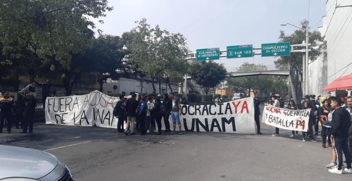 bloqueo-prepa-4-UNAM-alumnos