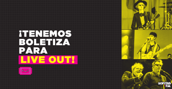 Atención Monterrey: Pásenle por acá a la boletiza de Live Out 2019