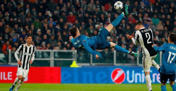 Buffon reveló lo que platicó con Cristiano Ronaldo luego de su golazo de chilena en la Champions
