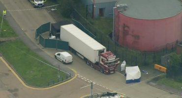 Encuentran 39 cadáveres al interior de camión en Essex, Reino Unido