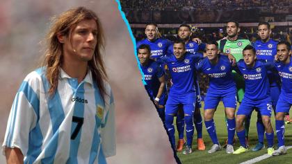 Caniggia confiesa su afición por Cruz Azul: