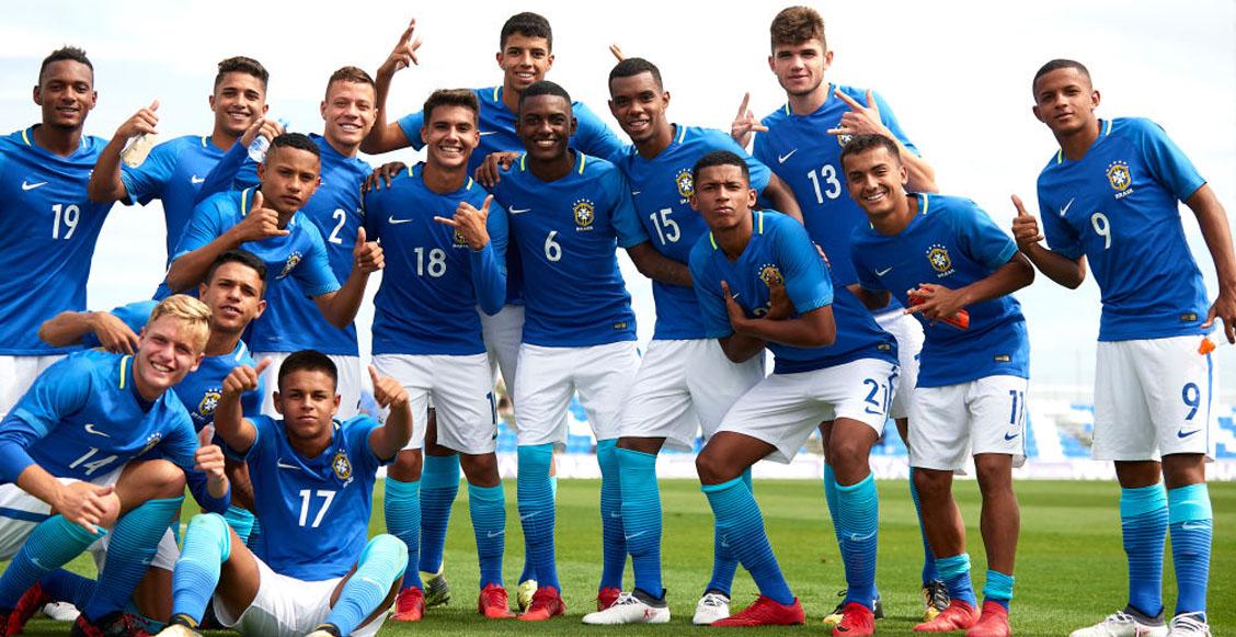 Castigarán a seleccionados sub-17 de Brasil si usan el celular mientras comen