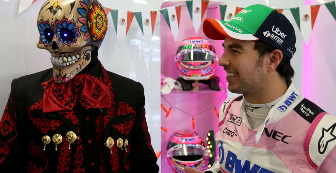 'Checo' Pérez confía en que sumará una buena cantidad de puntos en el GP de México