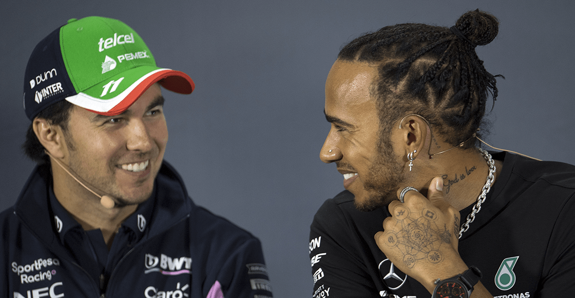 """Checo tras provocar la descalificación de Renault: """"Todos vemos por nuestros intereses"""""""