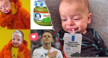 'Chicharito' compartió los mejores memes del #NoahChallenge