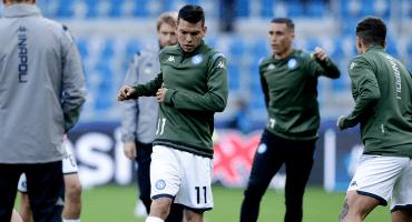 'Chucky' Lozano, fuera de la convocatoria del Napoli; Ancelotti espera más de él