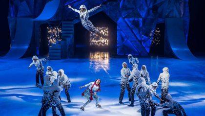 'Crystal': El 1er espectáculo del Cirque du Soleil de acrobacias sobre hielo