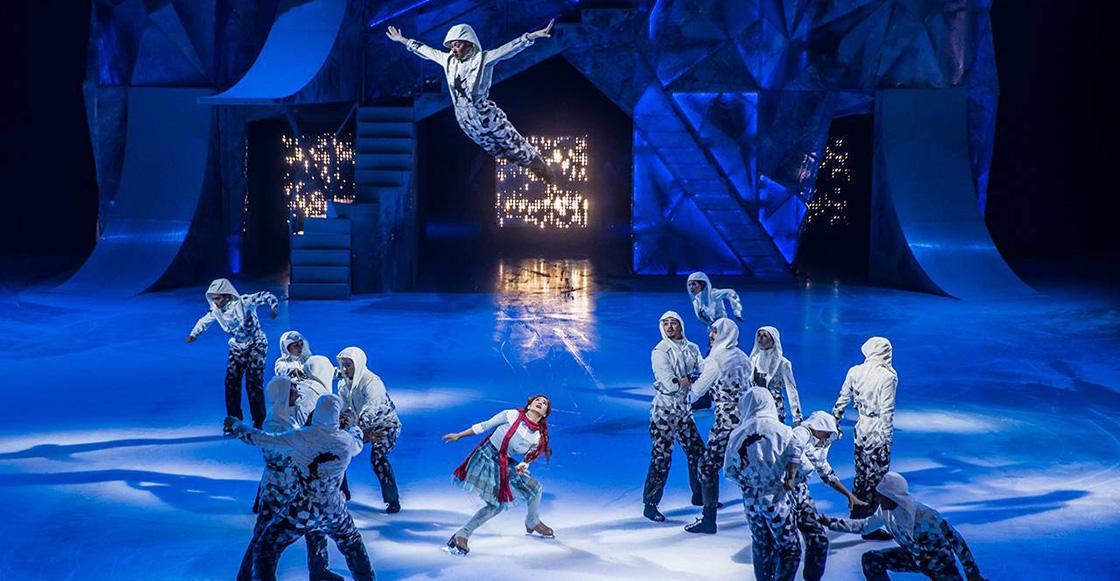 'CRYSTAL': El primer espectáculo del Cirque du Soleil de acrobacias sobre hielo