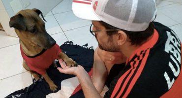 Aficionado sorteará su boleto de la Copa Libertadores para salvarle la vida a su perro