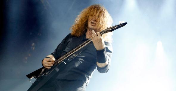 Buenas noticias para el metal: Dave Mustaine ha terminado su tratamiento contra el cáncer de garganta