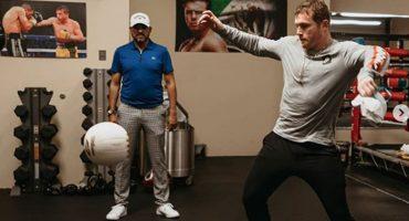 David Beckham elogió al 'Canelo' Álvarez por su 'dominio' del balón