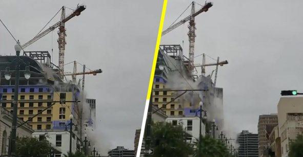 Se derrumba hotel en construcción y deja 19 heridos y varias personas desaparecidas