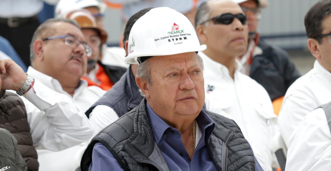 Romero Deschamps tiene siete denuncias pero ninguna orden de aprehensión: Gertz Manero