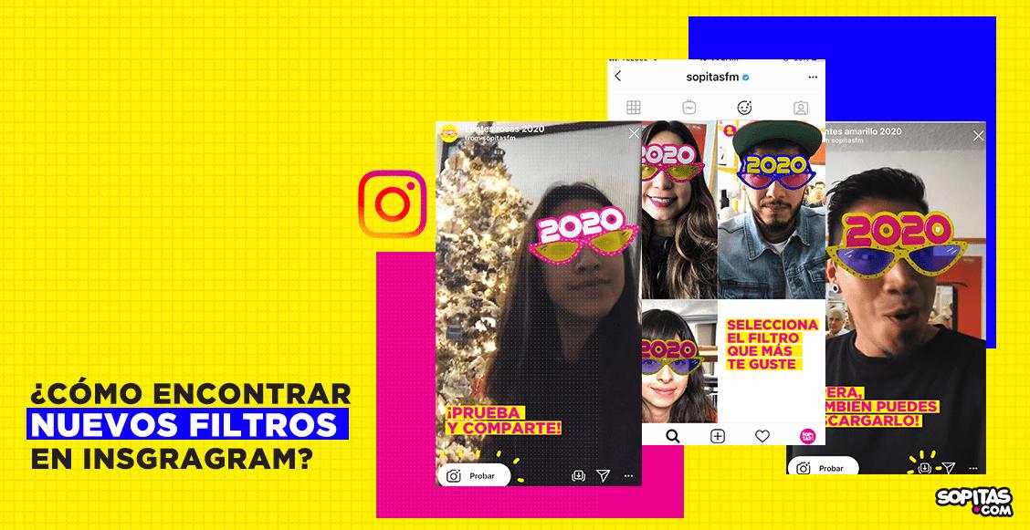 ¡Te decimos cómo usar el filtro de Sopitas.com para recibir el 2020!