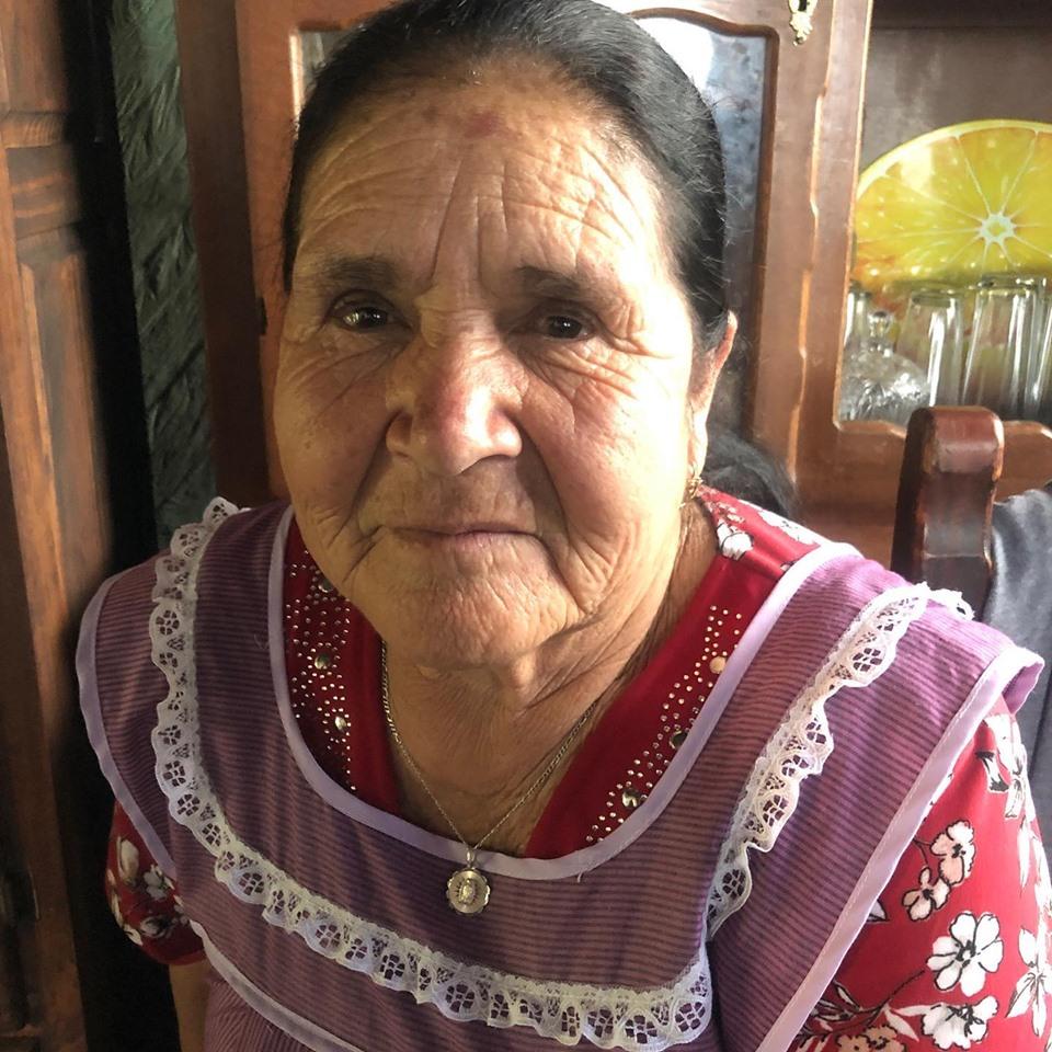 Dona Angela De De Mi Rancho A Tu Cocina Conocio El Mar Y Estamos
