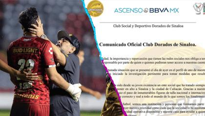 Dorados abre investigación contra portero Gaspar Servio y Maradona se disculpa por él