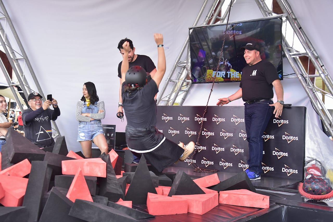 doritos activacion crowdsurfing coordenada 2019
