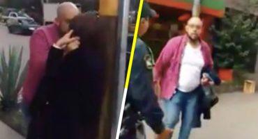 México mágico: Hombre ebrio golpea a su pareja, agrede a policía y al final lo dejan libre