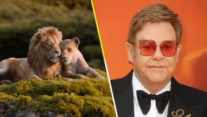 Ya lo hicieron enojar: Elton John dice que el remake de 'El Rey León' arruinó la música original