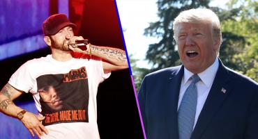 Eminem fue visitado por el Servicio Secreto tras escribir rimas en contra de Donald Trump