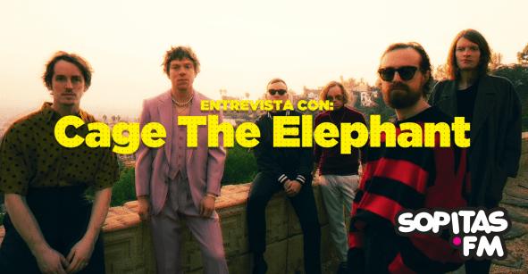 Cage The Elephant nos habla sobre la evolución de la banda y algunas curiosidades