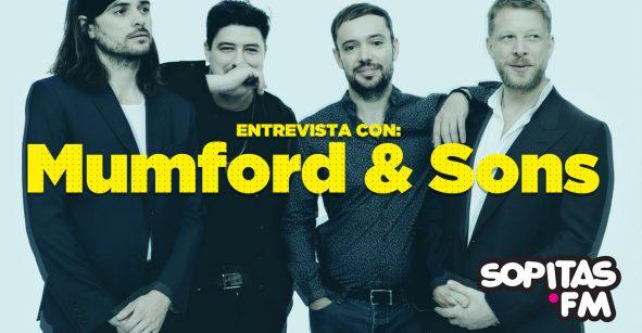 Mumford & Sons nos platican los inicios de la banda y otras curiosidades en esta entrevista