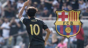 Carlos Vela ya no llegaría al Barcelona porque