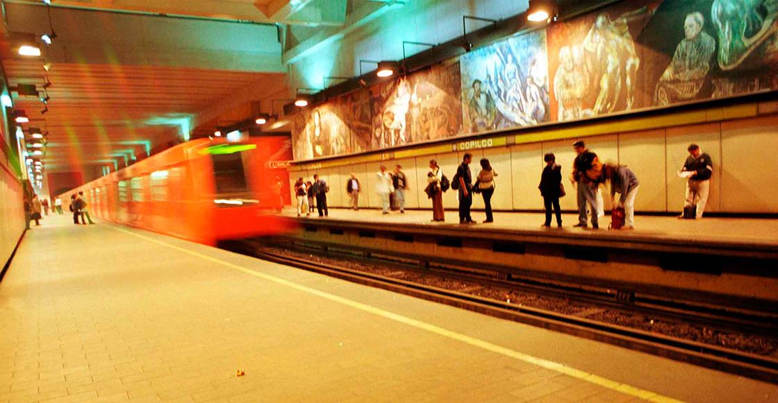 Muere hombre tras arrojarse a las vías el Metro en estación Copilco de la línea 3