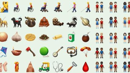Más inclusivos que nunca: ¡Conoce por acá los nuevos emojis!