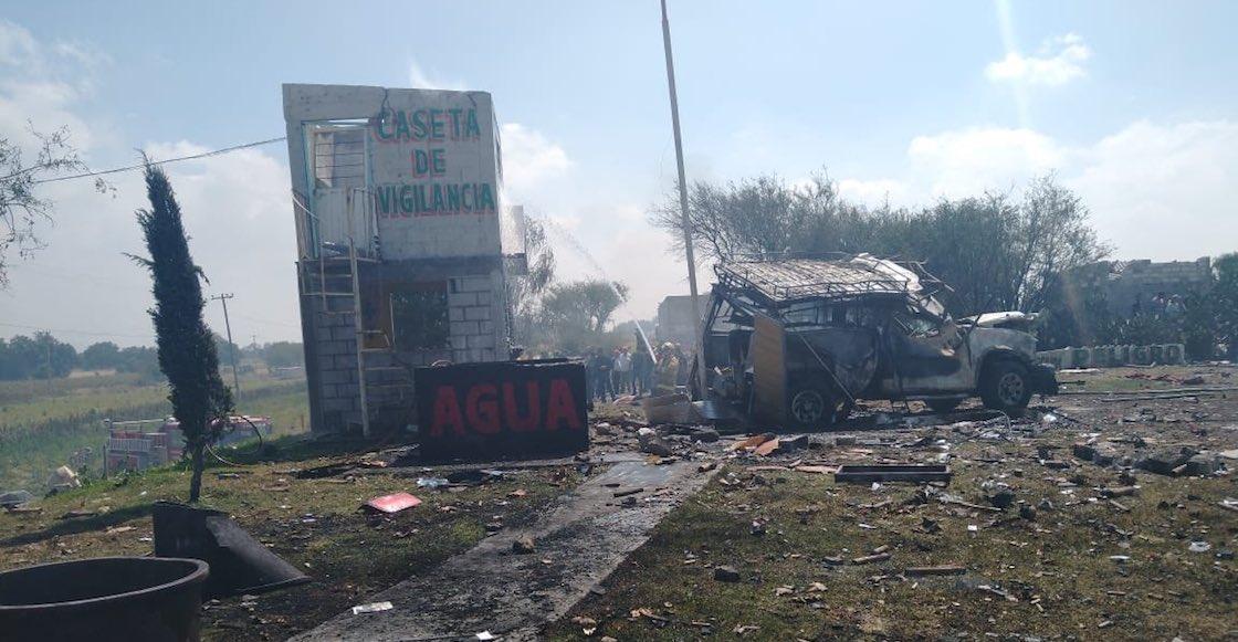 Otra vez la pirotecnia: Explota polvorín en Zumpango y deja fallecidos