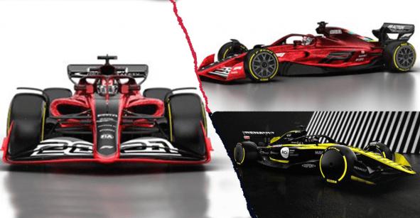 OMG!!! Fórmula 1 presenta los nuevos autos para la temporada 2021