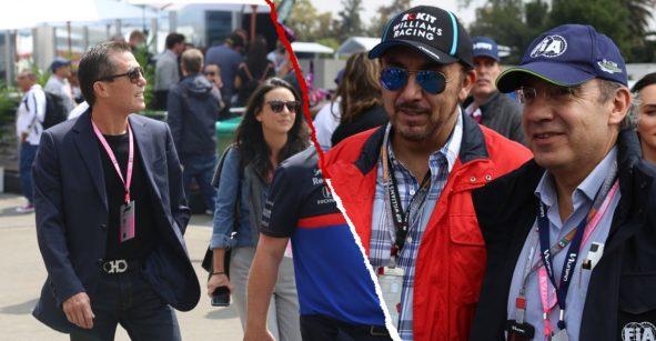 Deportistas, empresarios, celebridades: Los famosos presentes en el Gran Premio de México