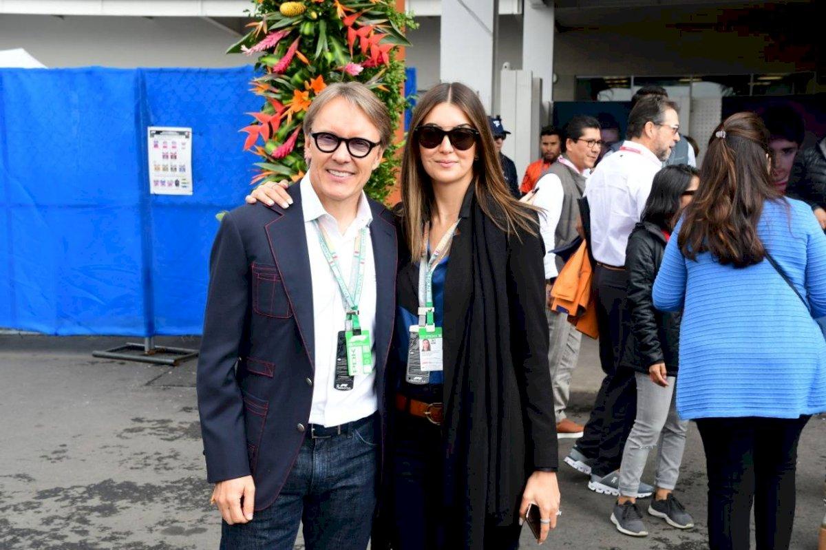 Deportistas, empresarios, celebridades: Los famosos presentes en el GP de México