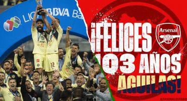 Las felicitaciones del mundo del deporte para el Club América por sus 103 años