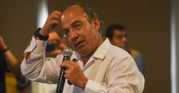 Felipe Calderón cancela su visita a la conferencia del Tec de Monterrey