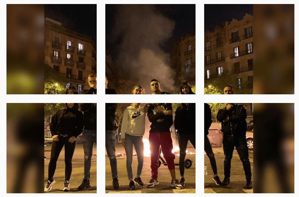 fotografia-influencers-barcelona-protestas