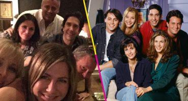 ¡Por fin hay una foto completa de todo el elenco de 'Friends' y lucen maravillosos!
