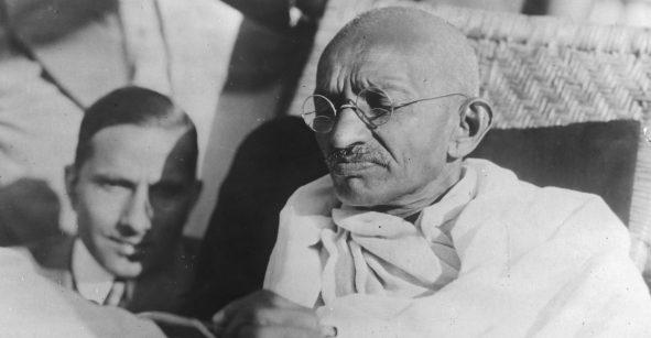 Se robaron las cenizas de Mahatma Gandhi... y en su cumpleaños