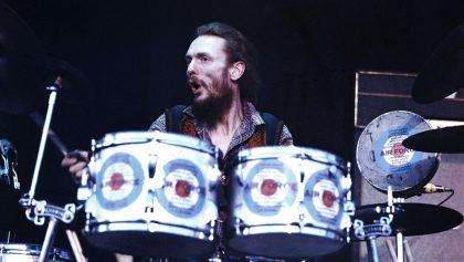 Murió Ginger Baker, baterista de Cream, a los 80 años