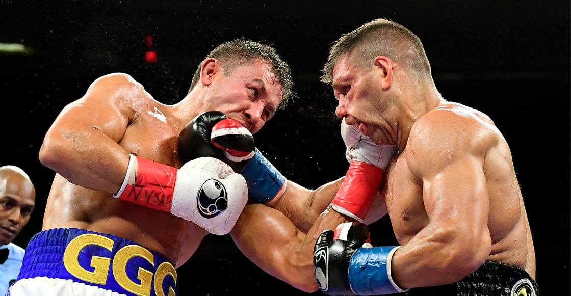 ¡La pelea del año! Derevyanchenko estuvo a nada de ganarle el título a Golovkin