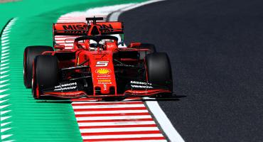Vettel se adueña de la pole position en el peor día de Checo Pérez en el GP de Japón