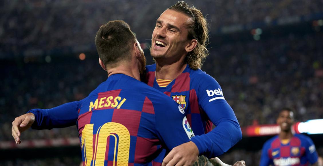 Griezmann reveló que hay una 'mala relación' con Messi y por eso ...
