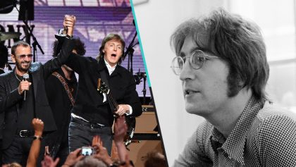 Escucha el cover de Paul y Ringo para 'Grow Old with Me' de John Lennon