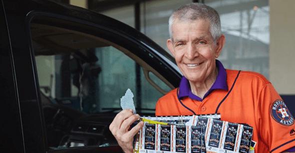 El hombre que apostó 11 millones de dólares por el triunfo de los Astros