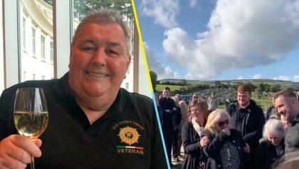Hombre graba mensaje para su funeral y hace llorar a todos... de la risa