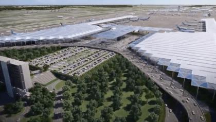 En imágenes: Así se verá el Aeropuerto Internacional de Santa Lucía (AISL)