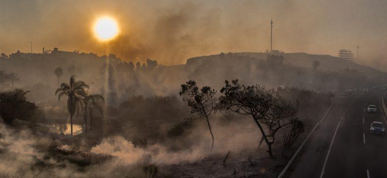 ¿Cómo ayudar a los damnificados por los incendios en Baja California?