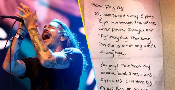 Lagrimita mil: Alguien pidió a Incubus tocar 'Dig' en honor a su mamá fallecida
