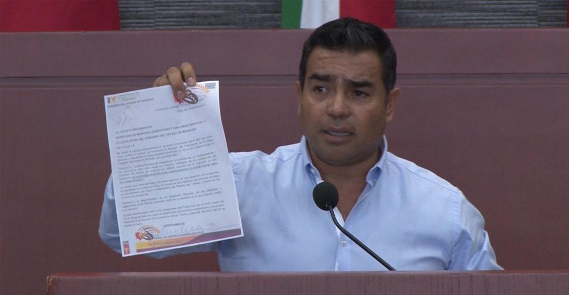 """""""Es lo malo de sacar a las personas de la cocina y darles una curul"""": diputado de Morelos"""