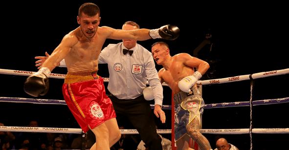 Boxeador aficionado al Leeds noqueó y dejó a su rival dando vueltas, como en las caricaturas